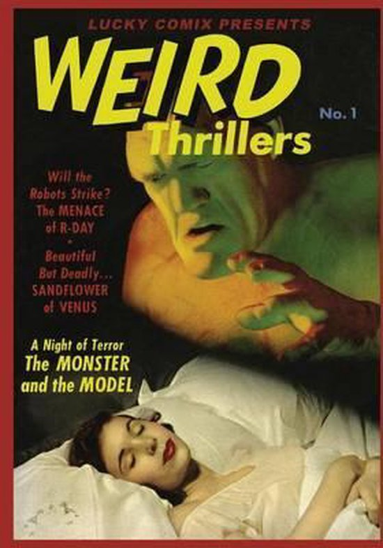 Lucky Comix Presents Weird Thrillers
