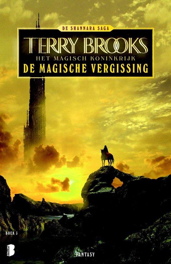 Cover van het boek 'De magische vergissing' van t brooks
