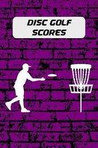 Disc Golf Scores