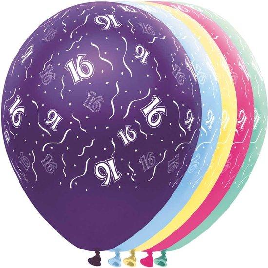 Ballon 16 jaar