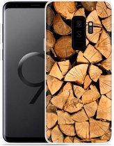 Galaxy S9+ Hoesje Boomstammen