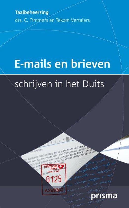 E-mails en brieven schrijven in het Duits - Corriejanne Timmers |
