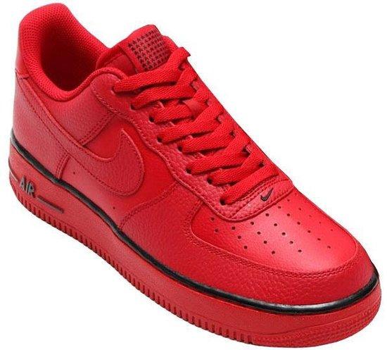 bol.com   Nike Sneakers Air Force 1 Heren Rood Maat 42,5