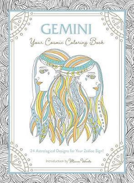 Gemini Your Cosmic Coloring Book