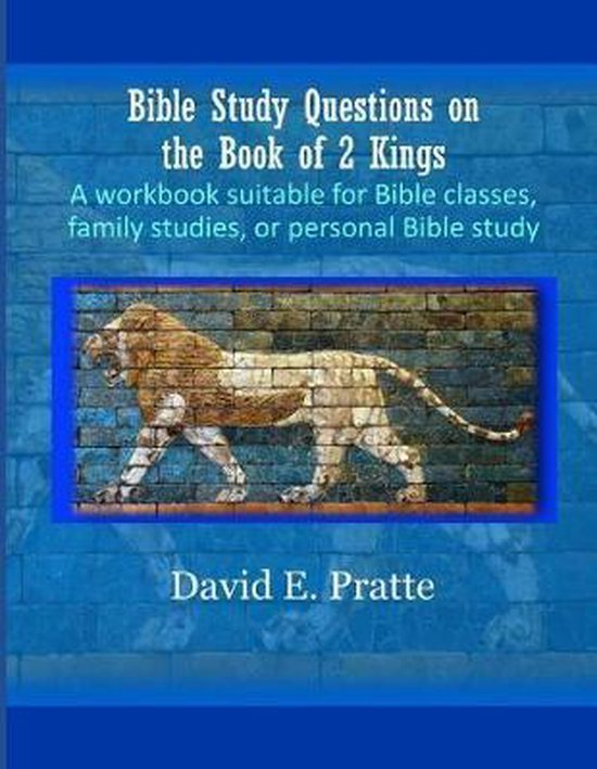 Boek cover Bible Study Questions on the Book of 2 Kings van David E Pratte (Paperback)