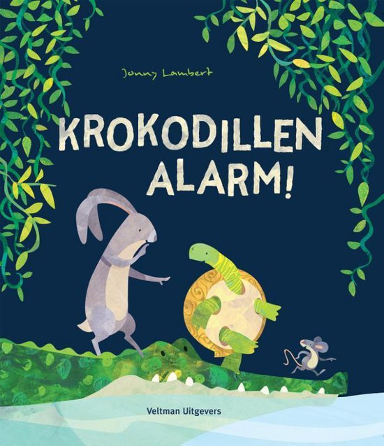 Boek cover Krokodillen-alarm! van Jonny Lambert (Hardcover)