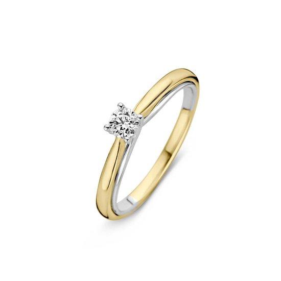 Ring bicolor briljant 0,25crt RG416371-56