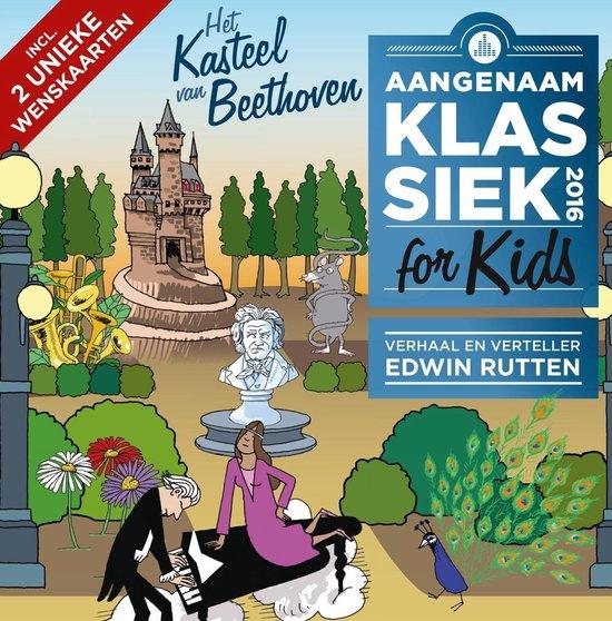 CD cover van Aangenaam Klassiek For Kids 2016 van Aangenaam Klassiek