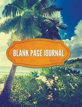 Blank Page Journal