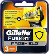 Gillette Fusion Proshield Razor Blades 3pcs