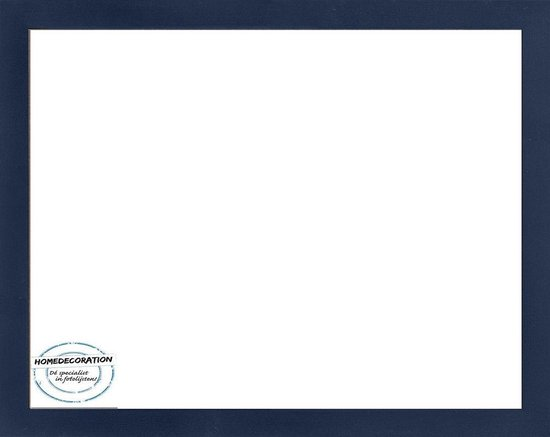 Homedecoration Misano – Fotolijst – Fotomaat – 49 x 71 cm  – Donkerblauw