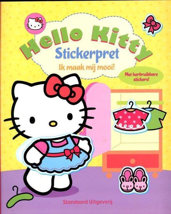 Hello Kitty - Stickerpret-ik maak mij mooi!