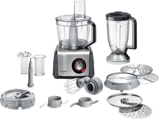 7. Bosch MultiTalent 8 MC812M865 - Foodprocessor - Zwart/RVS