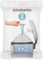 Brabantia Perfect Fit Afvalzakken - 30 l - Code O - 40 stuks