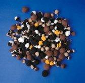 Pomponnetjes dierenkleuren - groot pakket- 300 stuks