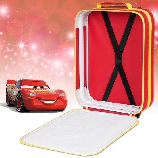 CARS Lightning McQueen Koffer Trolley Vakantie Kinderkoffer Disney Rood - Disney
