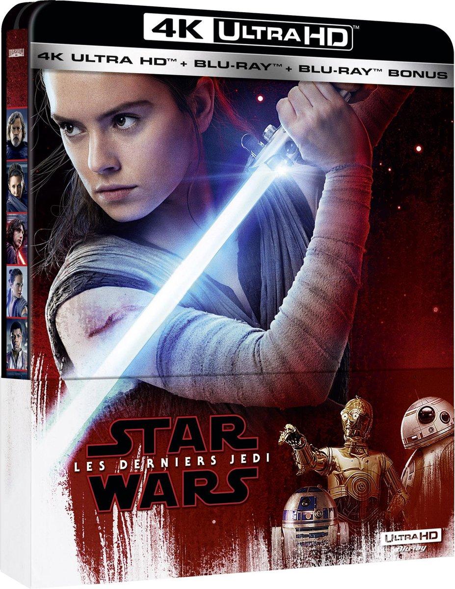 Star Wars Episode 8: The Last Jedi (4K Ultra HD Blu-ray) (Import)-