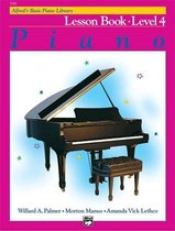 Boek cover AlfredS Basic Piano Library Lesson 4 van Willard A Palmer (Hardcover)