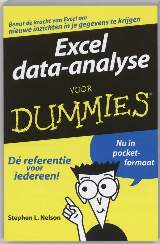 Boek cover Excel data-analyse voor Dummies, pocketeditie van Nelson (Paperback)