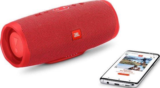 JBL Charge 4 Rood - Draagbare Bluetooth Speaker
