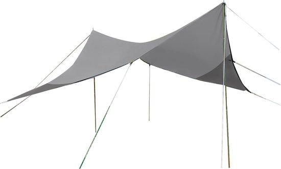 Bo-Camp Tarp - Travel Ruit - 4-hoekig - 3x3 Meter