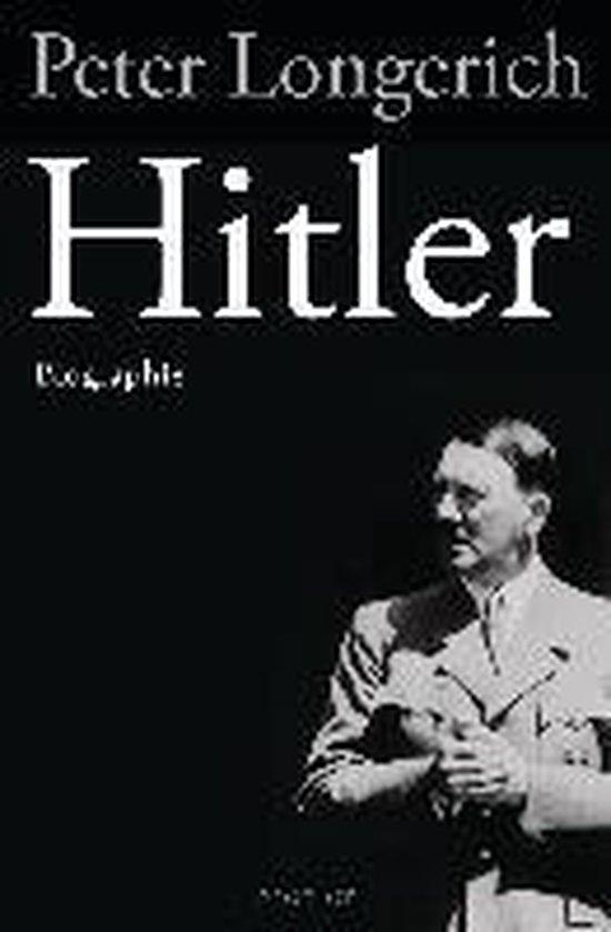 Boek cover Hitler van Peter Longerich (Hardcover)