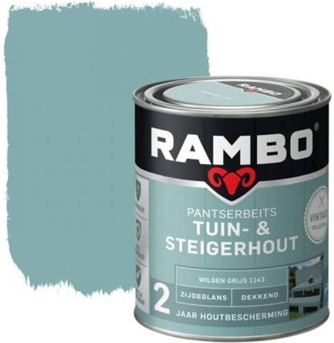 Tuin - & Steigerhout 750 ml Wilgen Grijs 1143