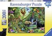 Ravensburger puzzel Dieren in de jungle - Legpuzzel - 200 stukjes
