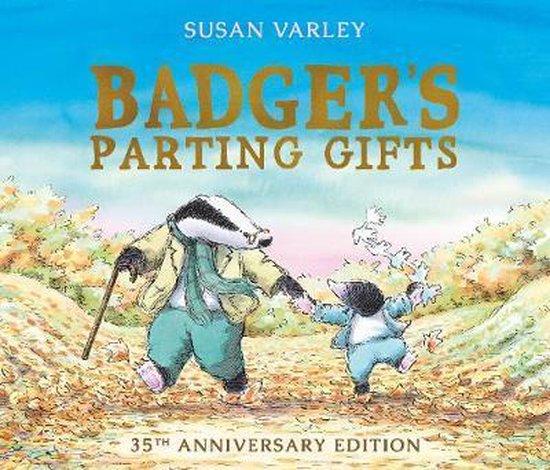 Boek cover Badgers Parting Gifts van Susan Varley (Paperback)