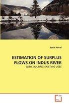 Estimation of Surplus Flows on Indus River