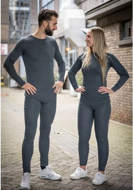 Thermo kleding - Dames - Maat S - Shirt en broek - set - Chimb