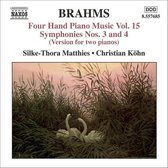 Brahms:Four-Hand Piano Music15