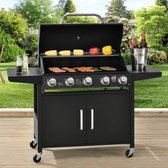 BBQ Gasgrill - Barbecue grill Dakota - 5 Pits brander