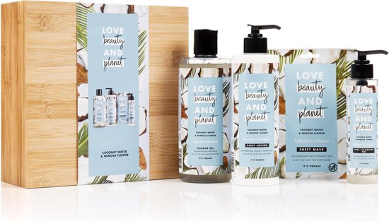 Love Beauty And Planet Blue BambooBox Coconut Water & Mimosa Flower - Geschenkset