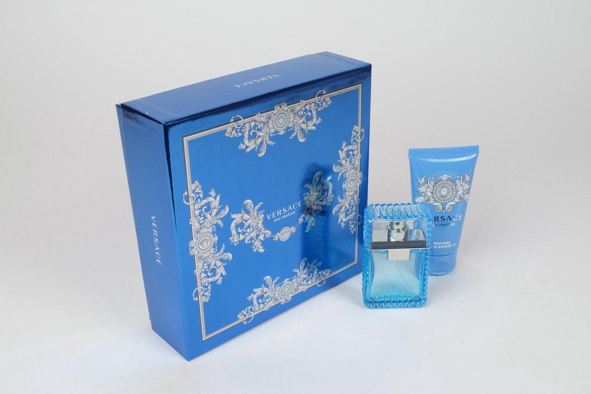 Versace Man Fraiche - Edt 30ml & Showergel 50ml - Geurengeschenksets - Versace