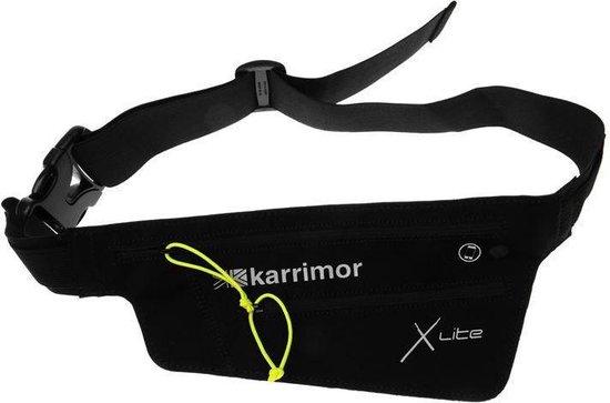 Karrimor Hardloopriem - Runningbelt voor audio - Zwart