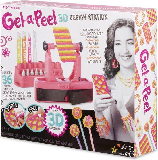 Gel a Peel 3D ontwerpstation