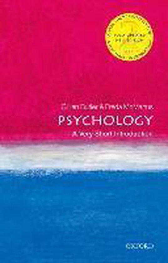 Boek cover Psychology van Gillian Butler (Paperback)
