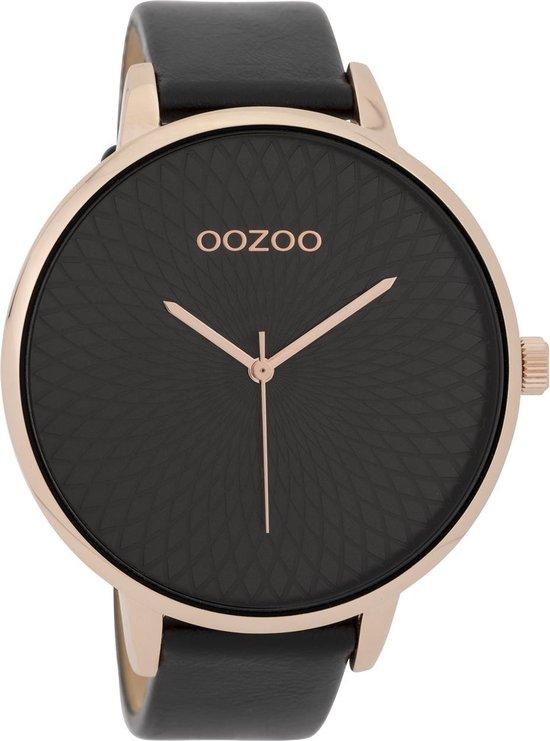 OOZOO Timepieces Zwart horloge  (48 mm) - Zwart - OOZOO