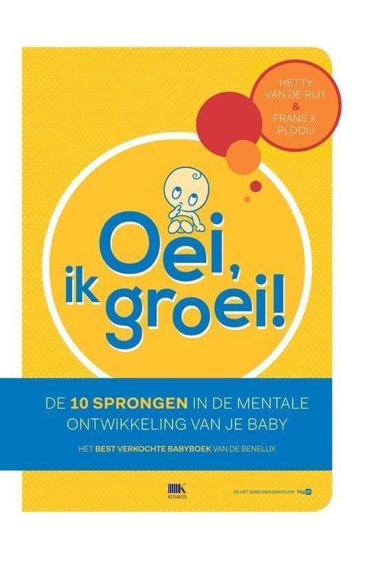 Boek cover Oei, ik groei! van Hetty van de Rijt (Hardcover)