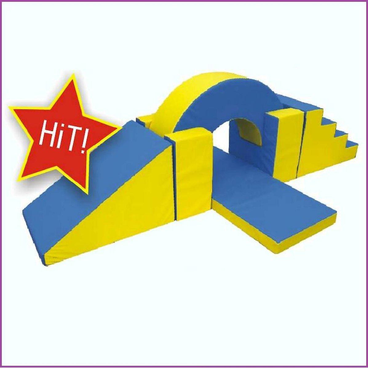 Gymnastiek Boog Set - Speel, Bouw & Zit schuim blokken / kussens / elementen / foam