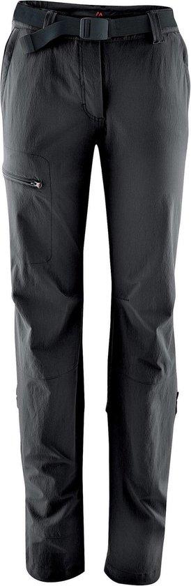 Maier Sports Lulaka lange broek Dames Regular zwart Maat 44 regular