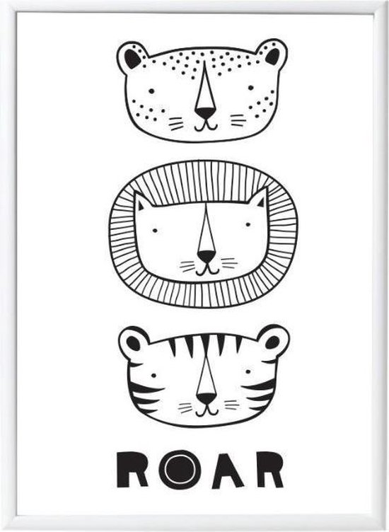 Poster Roar A Little Lovely Company