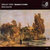 Sibelius, Verdi: String Quartets / Melos Quartet