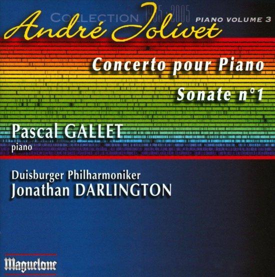 Jolivet: Concerto Pour Piano, Sonat