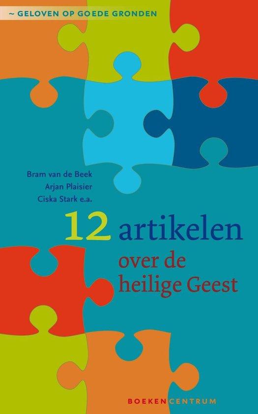 Cover van het boek '12 artikelen over de Heilige Geest' van Bram van de Beek