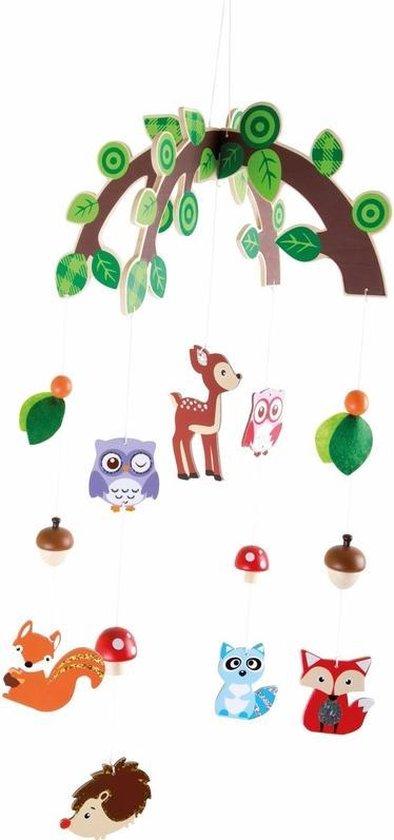 Product: Hangdecoratie mobiel bosdieren voor jongens, van het merk Small Foot Company