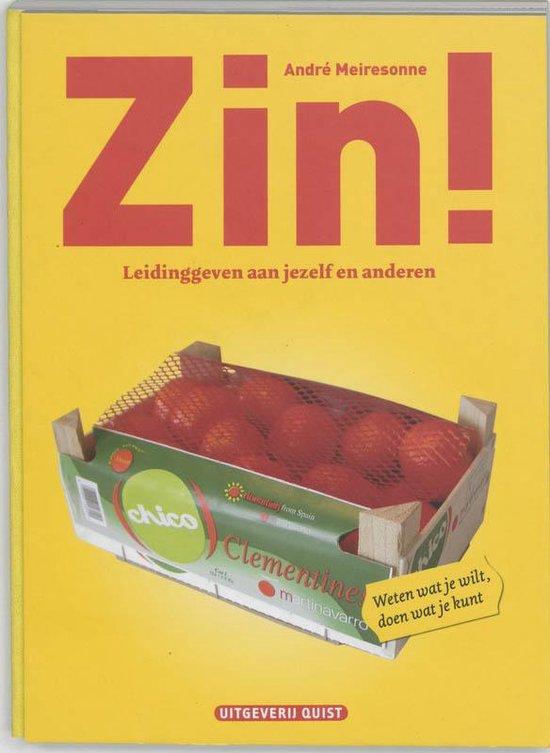 Zin! - A.A. Meiresonne |