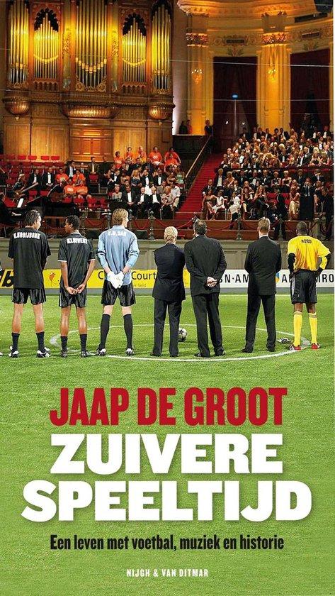 Boek cover Zuivere speeltijd van Jaap de Groot (Onbekend)