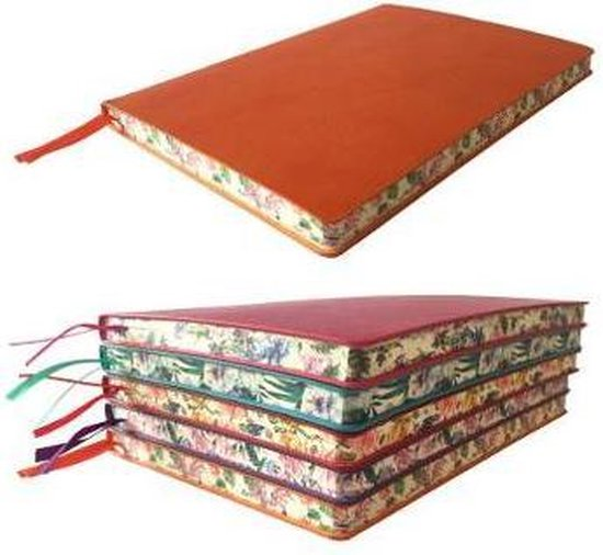 Orange Artisan Notebook (Flame Tree Journals)